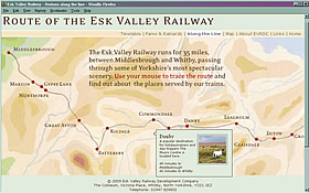 Esk Valley Railway website