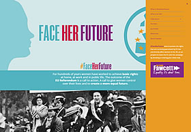 #FaceHerFuture | A call to create a more equal future