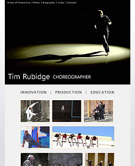 Tim Rubidge Choreographer